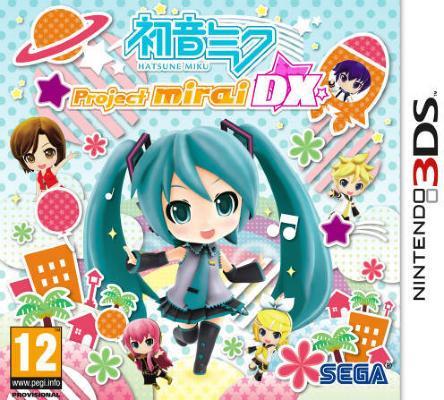 Hatsune Miku: Project Mirai DX til 3DS