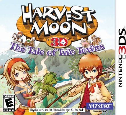 Harvest Moon: The Tale of Two Towns til 3DS