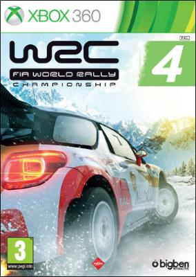 WRC FIA World Rally Championship 4 til Xbox 360