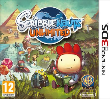 Scribblenauts Unlimited til 3DS