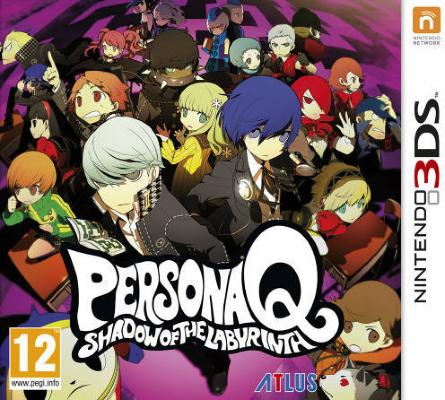 Persona Q: Shadow of the Labyrinth til 3DS