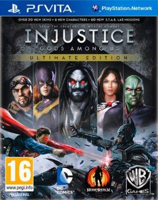 Injustice: Gods Among Us - Ultimate Edition til Playstation Vita