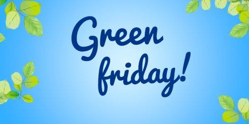 Green Friday tilbud 2017 - se salget!