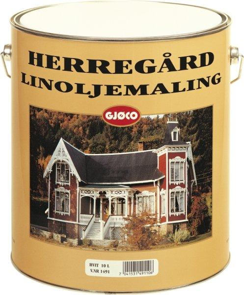 Gjøco Herregård Linoljemaling (9 liter)