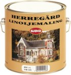 Gjøco Herregård Linoljemaling (2,7 liter)