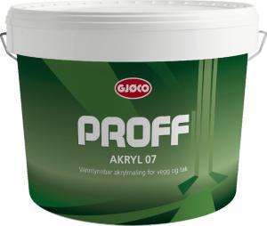 Gjøco Proff Akryl 07 (10 liter)