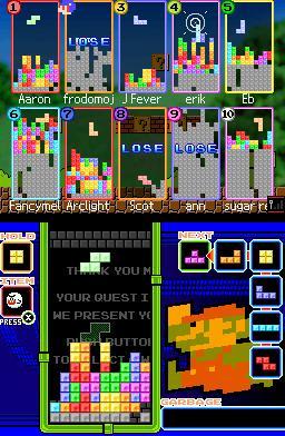Tetris  til DS