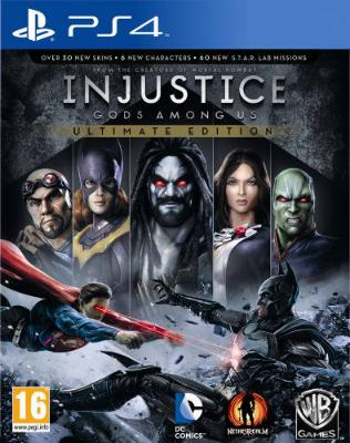 Injustice: Gods Among Us - Ultimate Edition til Playstation 4