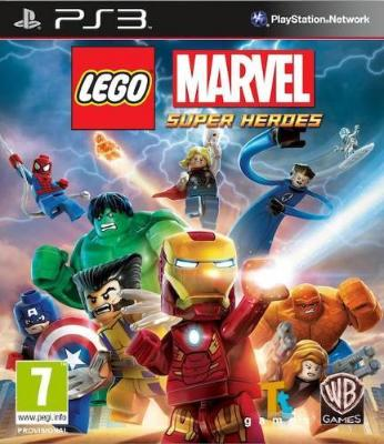 LEGO Marvel Super Heroes til PlayStation 3
