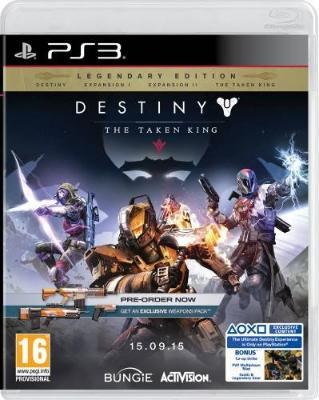 Destiny: The Taken King til PlayStation 3