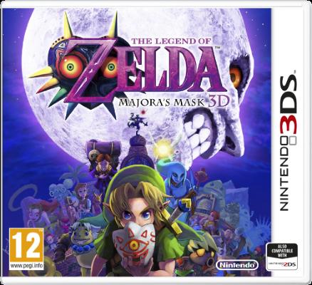 The Legend of Zelda: Majora's Mask 3D til 3DS