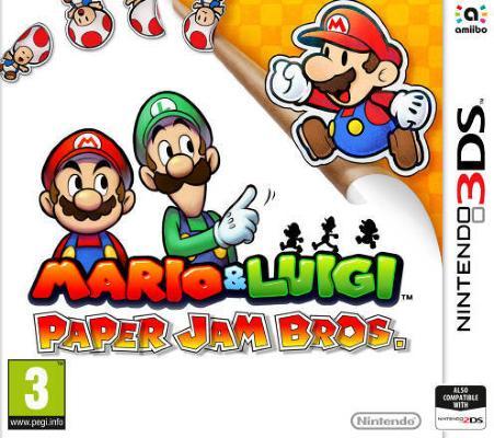 Mario & Luigi: Paper Jam Bros. til 3DS