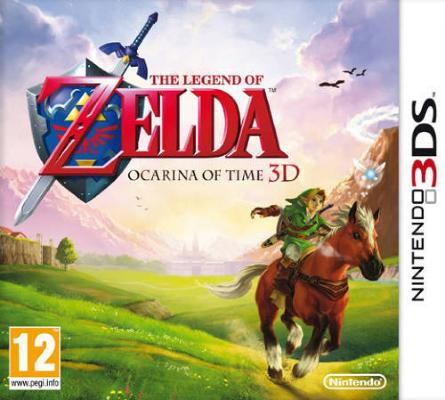The Legend of Zelda: Ocarina of Time 3D til 3DS