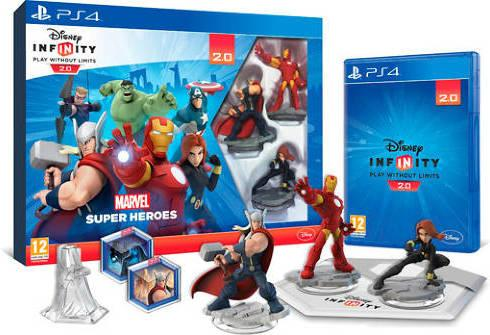 Disney Infinity 2.0 Marvel Super Heroes startpakke til Playstation 4