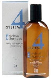 SIM Sensitive System 4 Shale Oil Shampoo 215 ml