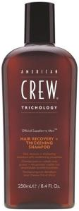 American Crew Hair Recovery+Thickening Shampoo 250ml
