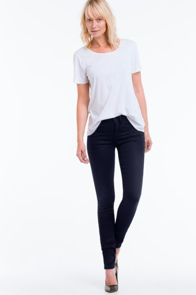 G-Star Lynn High Skinny Fit jeans (Dame)