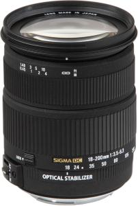 Sigma 18-200mm f3.5-6.3 DC for Minolta/Sony