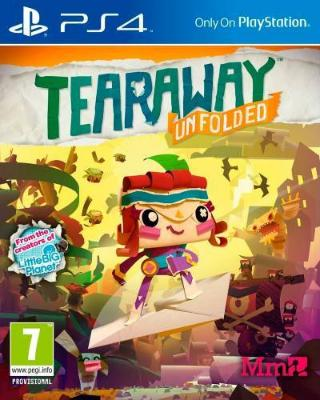 Tearaway Unfolded til Playstation 4