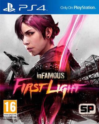 Infamous: First Light til Playstation 4