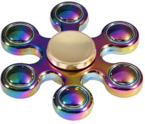 Fidget Spinner Six Bar