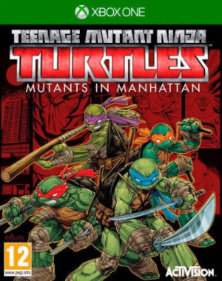 Teenage Mutant Ninja Turtles: Mutants in Manhattan til Xbox One