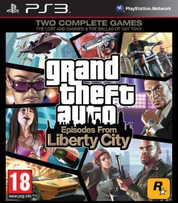 Grand Theft Auto: Episodes From Liberty City til PlayStation 3
