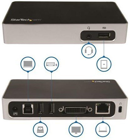 Startech USB3VDOCKD