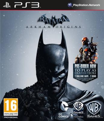 Batman: Arkham Origins til PlayStation 3