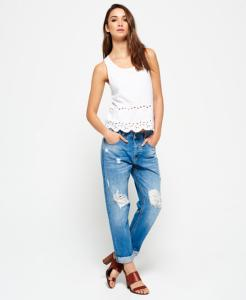 Superdry Harper Boyfriend Jeans (Dame)