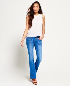 Superdry Zadie Kick Jeans (Dame)