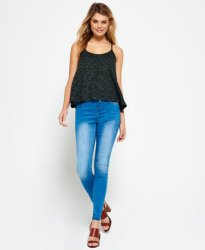 Superdry Sophia High Waist Super Skinny Jeans (Dame)