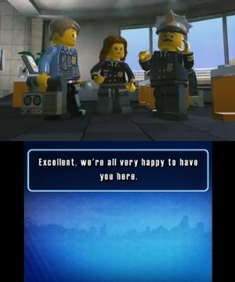 LEGO City Undercover: The Chase Begins til 3DS