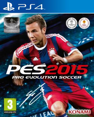 Pro Evolution Soccer 2015 til Playstation 4