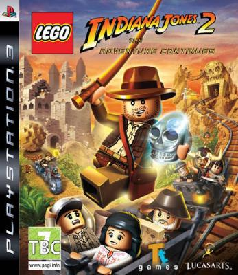 LEGO Indiana Jones 2: The Adventure Continues til PlayStation 3