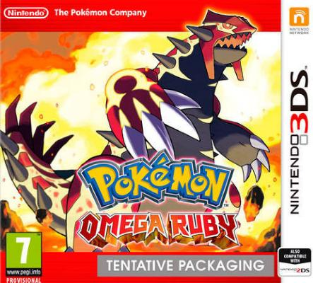 Pokémon Omega Ruby til 3DS