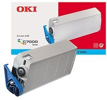 Oki C7200/C7400 Cyan