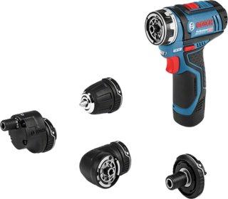 Bosch GSR 12V-15 FC FlexiClick L-BOXX 102 (2x2,0Ah)
