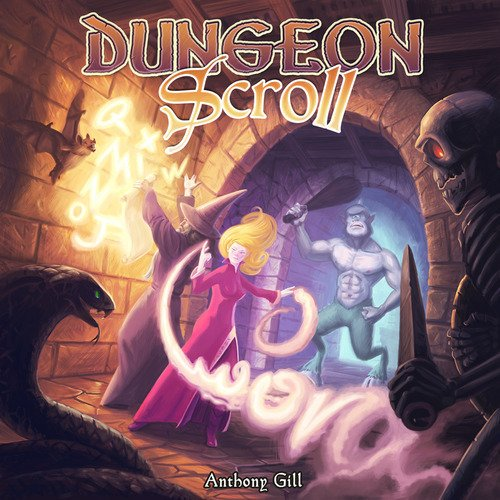 Dungeon Scroll Kortspill