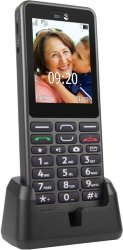 Doro PE509 : Doro PhoneEasy 509 mobiltelefon (grafitt)