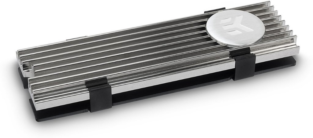 EKWB EK-M.2 NVMe Heatsink Nickel
