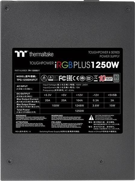 Thermaltake Toughpower iRGB PLUS 1450W Titanium