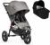 Baby Jogger City Elite Duovogn m/Deluxe Pram
