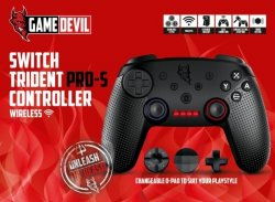 GameDevil Switch Trident Pro-S Controller