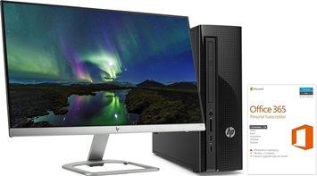 HP Slimline 260-a100no m/skjerm