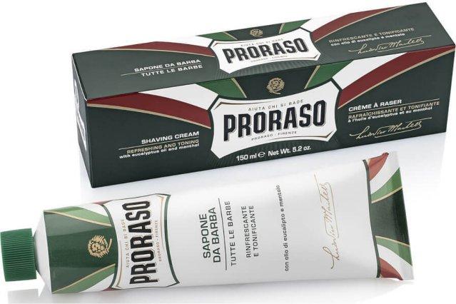Proraso Shaving Cream Eucalyptus & Menthol 150ml
