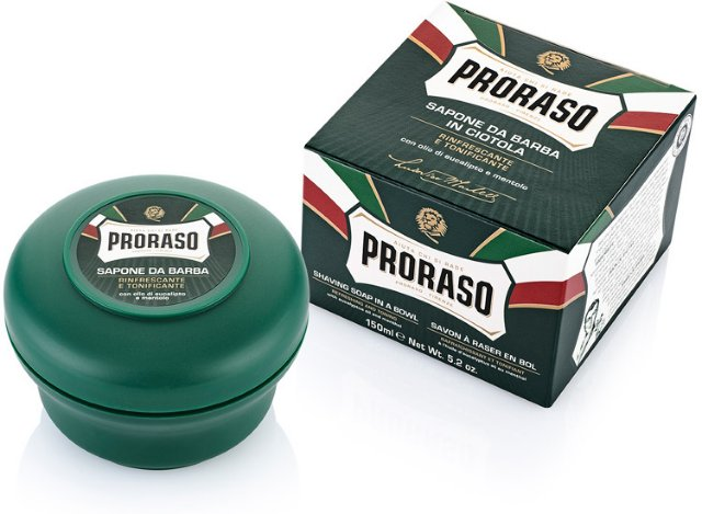 Proraso Shaving Soap Eucalyptus & Menthol 150ml