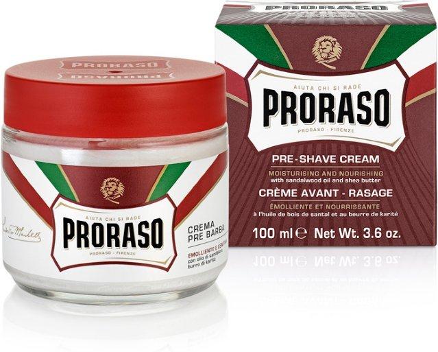 Proraso Pre-Shave Cream Sandalwood & Shea Butter