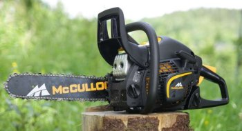 Test: McCulloch CS 450 Elite motorsag