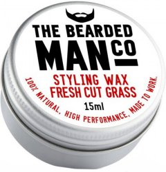 The Bearded Man Company Moustache Wax Fresh Cut Grass